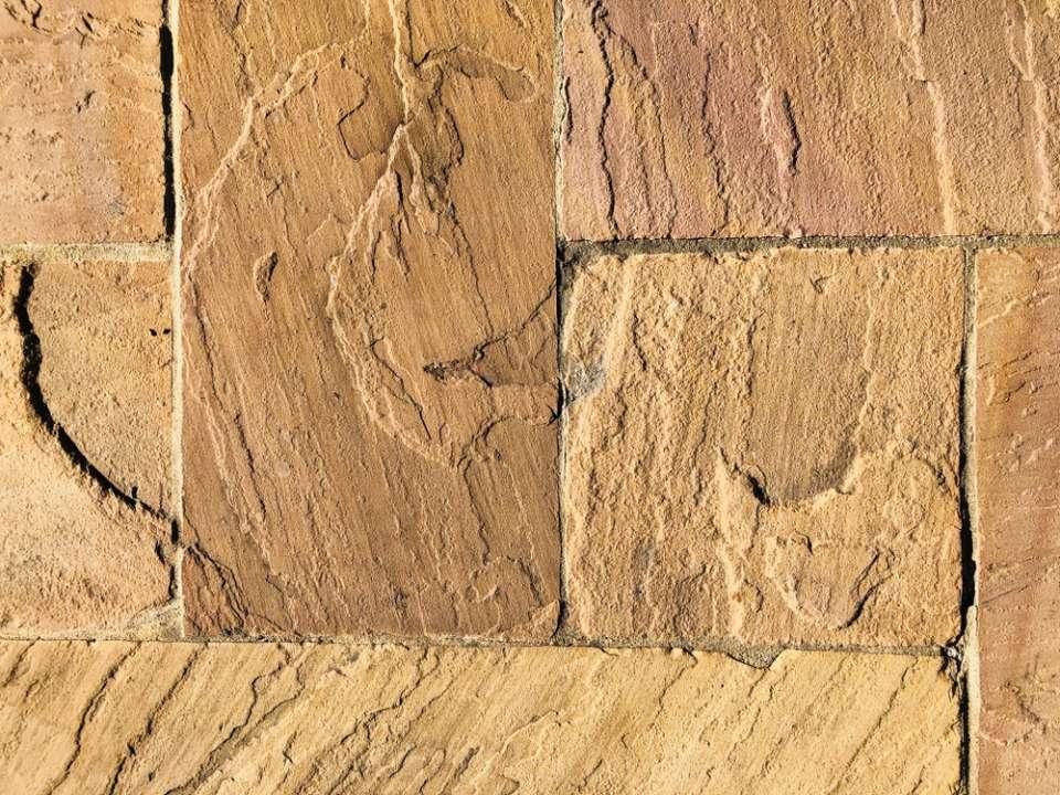 Indian Sandstone Paving - Slemish Landscape Centre
