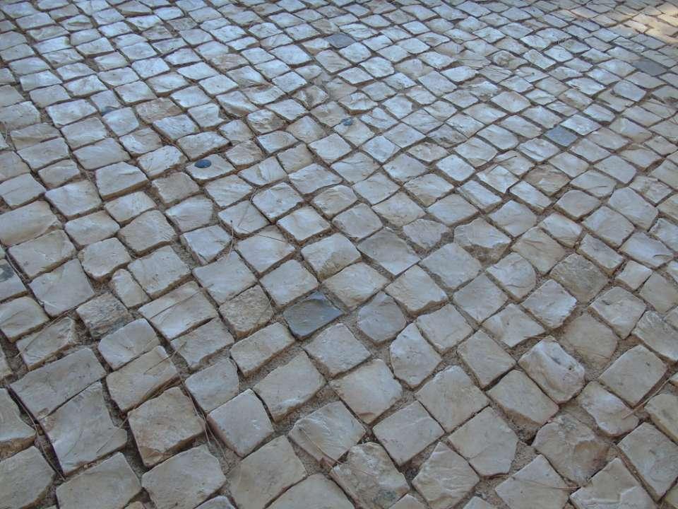 Sandstone cobbles - Slemish Landscape Centre