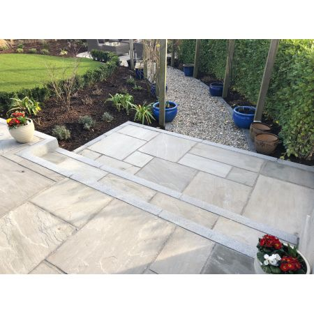 Kandla Grey Natural Sandstone Paving